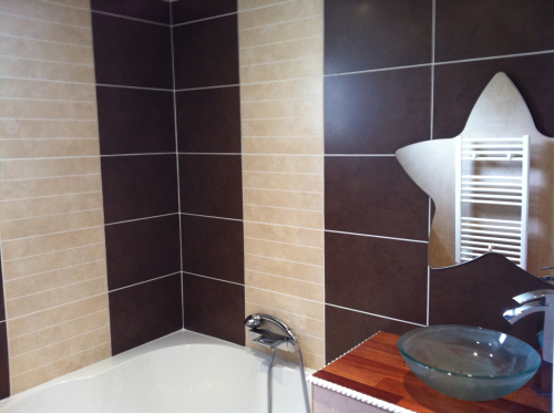 Salle de bain à Chazay d'Azergues