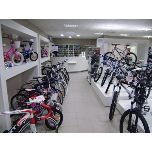 Réalisation d'un magasin de cycles à Firminy