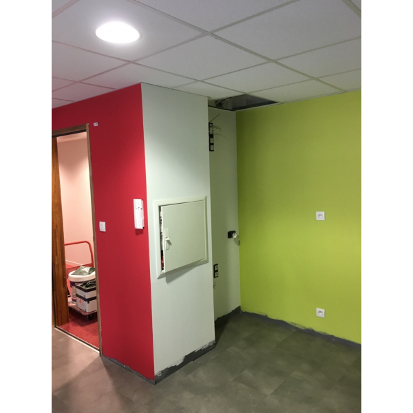 Aménagement d'un bureau - suite des travaux