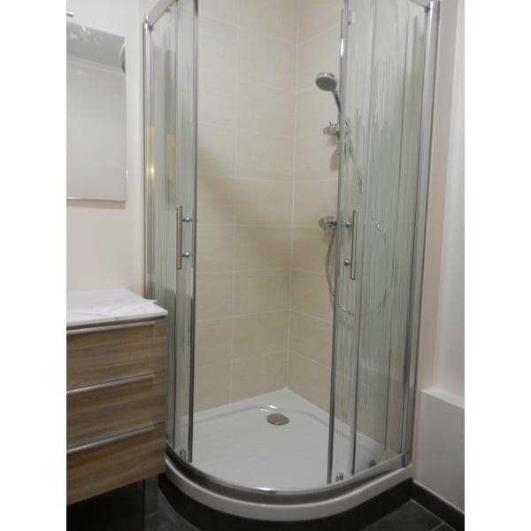 Rénovation d'une salle de bain à Vertou (44120)