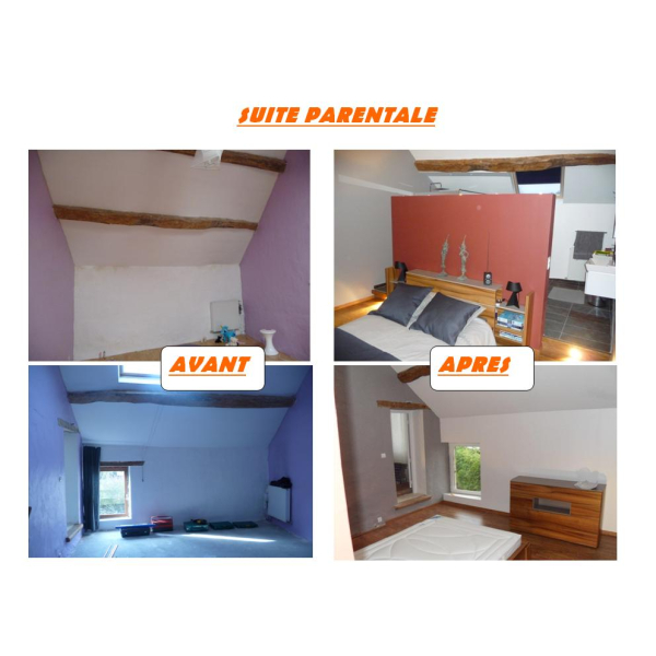 RENOVATION D'UNE MAISON BRIARDE - BOULEURS - PHASE 1