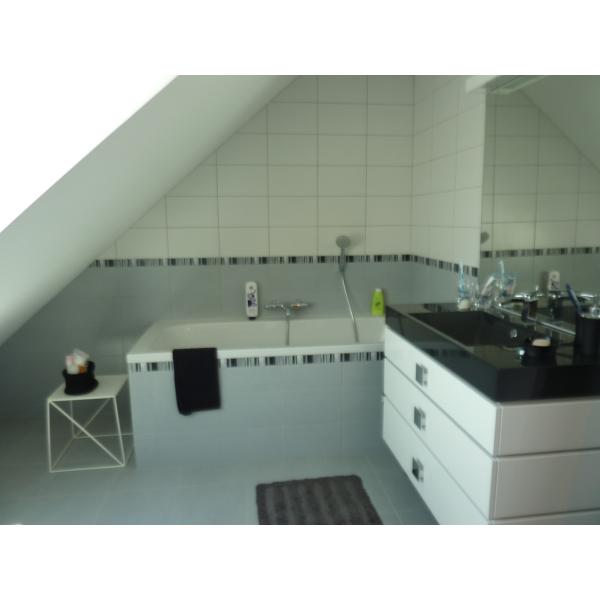 Création de salle de bain dans les combles