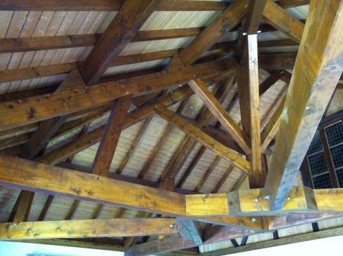 Charpente et escalier bois