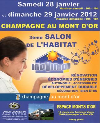 SALON DE L'HABITAT à Champagne au Mont d'Or