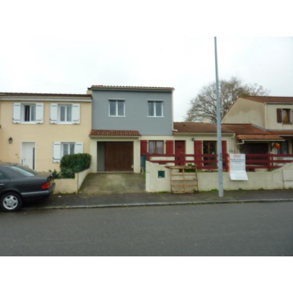 Surélévation d'une maison à Saint Sébastien sur Loire