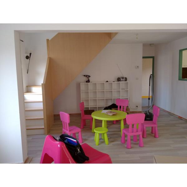 Rénovation d'une maison en crèche - Rezé