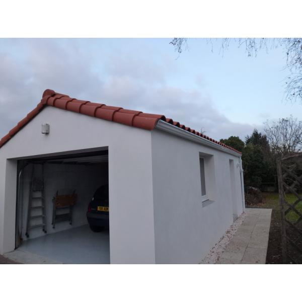 Construction d'un garage à St Sébastien