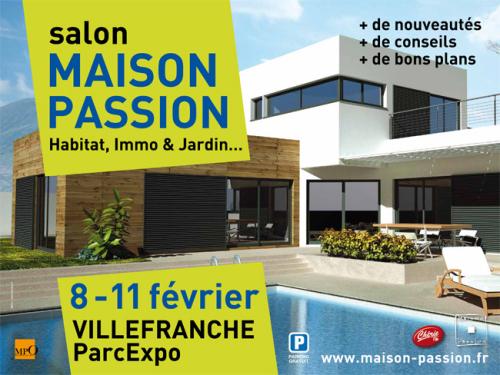 Votre courtier en travaux au salon Maison Passion de Villefranche du 8 au 11 février 2013