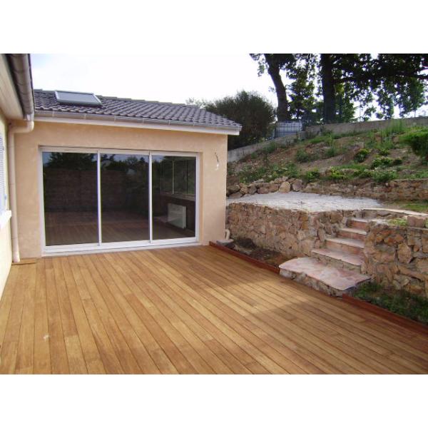 Aménagement d'une terrasse