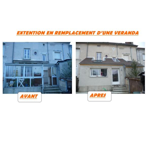 EXTENSION EN REMPLACEMENT DE VERANDA - SAACY-SUR-MARNE
