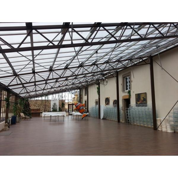 Rénovation façade et réaménagement grange dans l'ouest Lyonnais à ST LAURENT de CHAMOUSSET