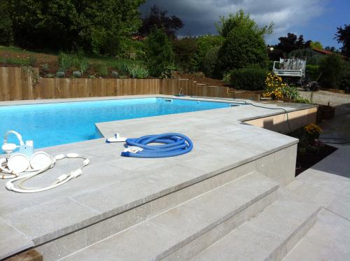 Piscine et aménagements extérieurs à Dardilly (69570)