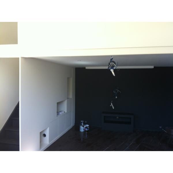 Aménagement d'un espace détente - salon cinéma à Lentilly (69210)