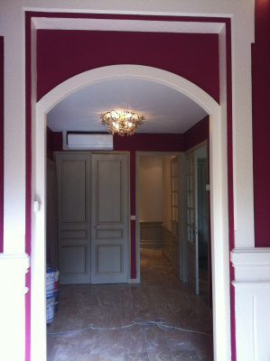 rénovation d'un appartement avec climatisation réversible