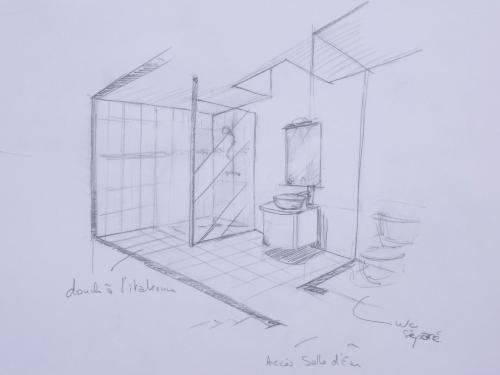 Rénovation d'une maison, projet à l'étude, Lyon