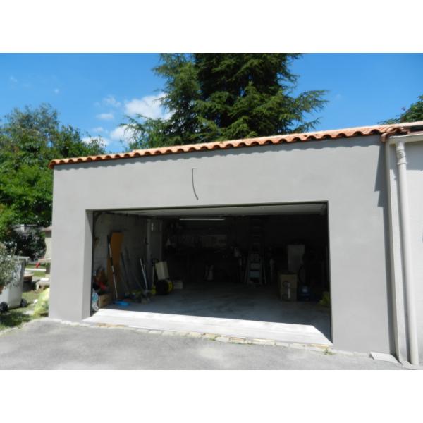 Construction d'un garage et aménagement d'un existant à Vertou