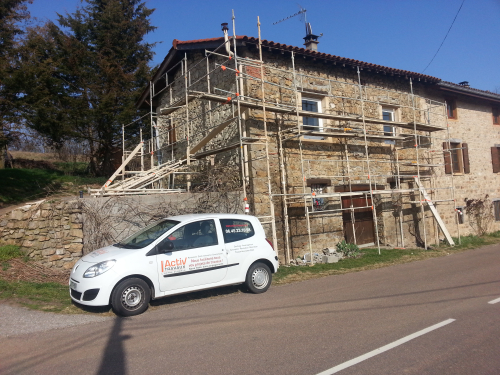RENOVATION MAISON A VAUGNERAY