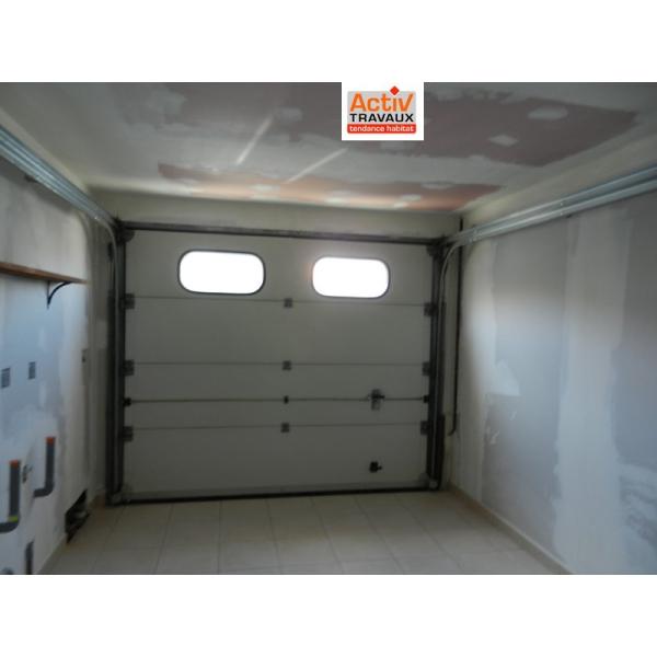 Rénovation d'un garage à Rezé