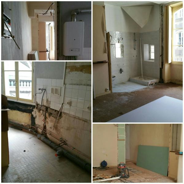 Rénovation d'un vieil appartement sur Nantes