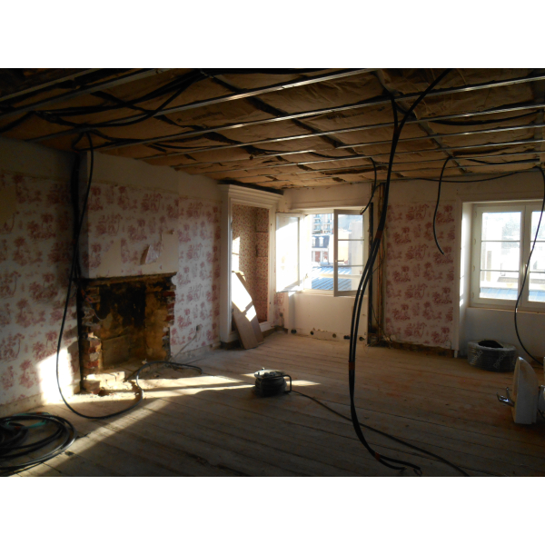 Rénovation d'un appartement à Granville