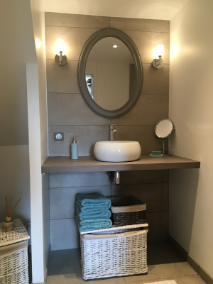 Création d'une salle de bain pour une suite ado - LENTILLY