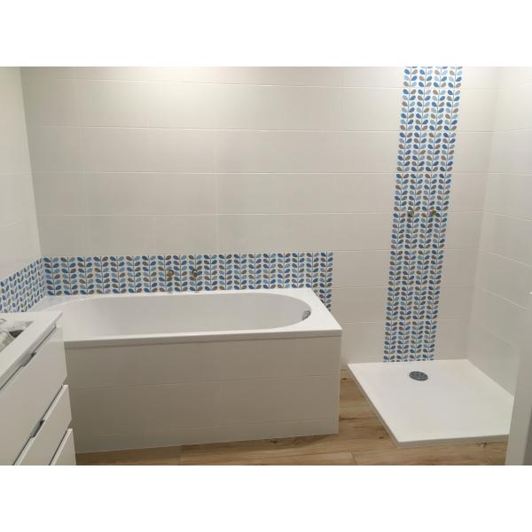 Rénovation d'une salle de bain à Saint Sébastien Sur Loire (44230)