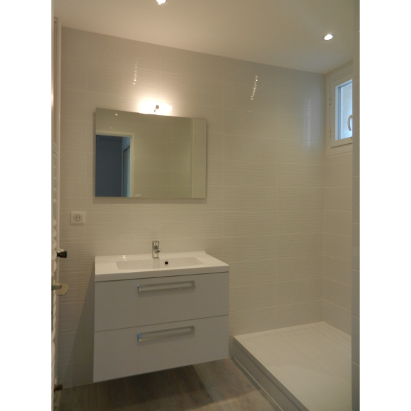 Rénovation d'une salle de bain à Saint Nazaire (44600)