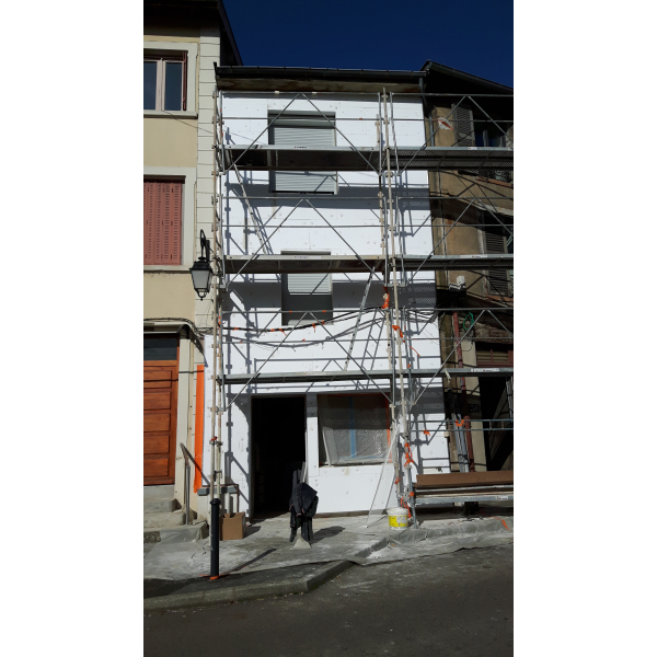 TRANSFORMATION ET RAVALEMENT FACADE A TARARE