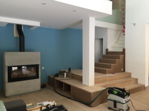 Rénovation & aménagement d'une villa - commune d'Ecully