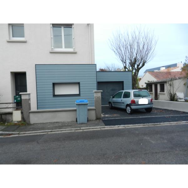 Construction d'un garage à Saint Sébastien S/loire (44230)