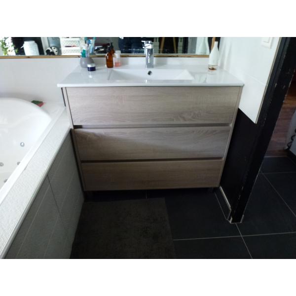Rénovation d'une salle de bain à Rezé (44400)