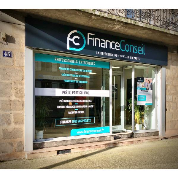 Nouveau bureau Finance Conseil Brive