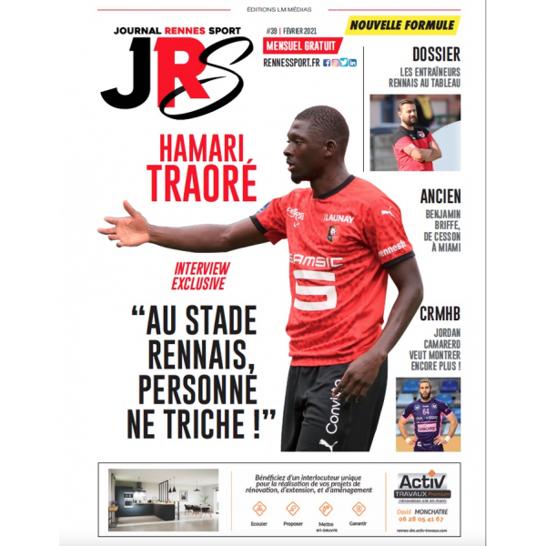Publicité Journal Rennes Sport