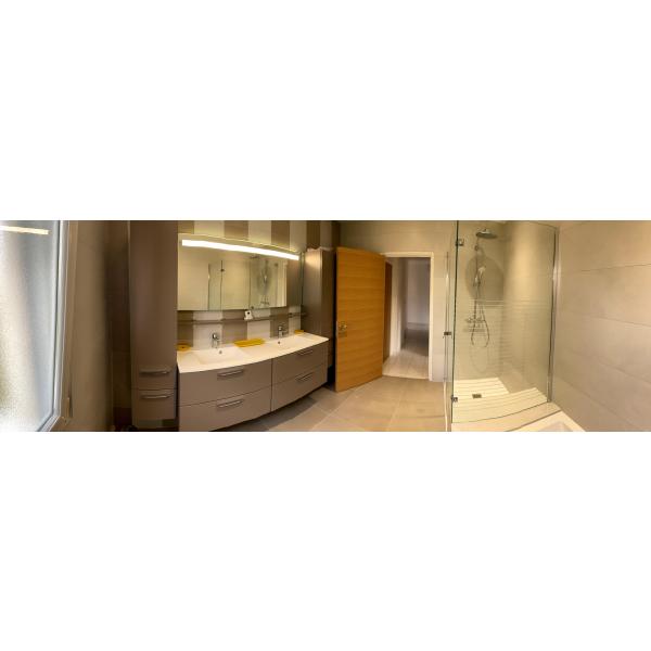 Rénovation d'une salle de bain à Basse-Goulaine (44115)