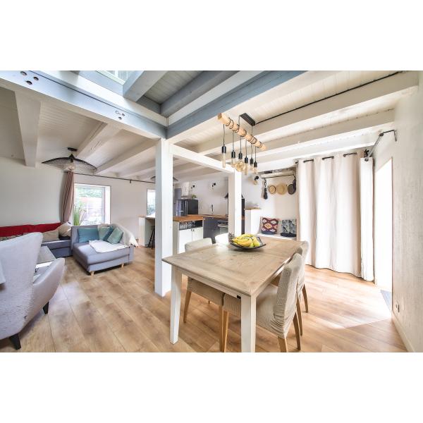 Rénovation, design d'espace, création cuisine, salon séjour